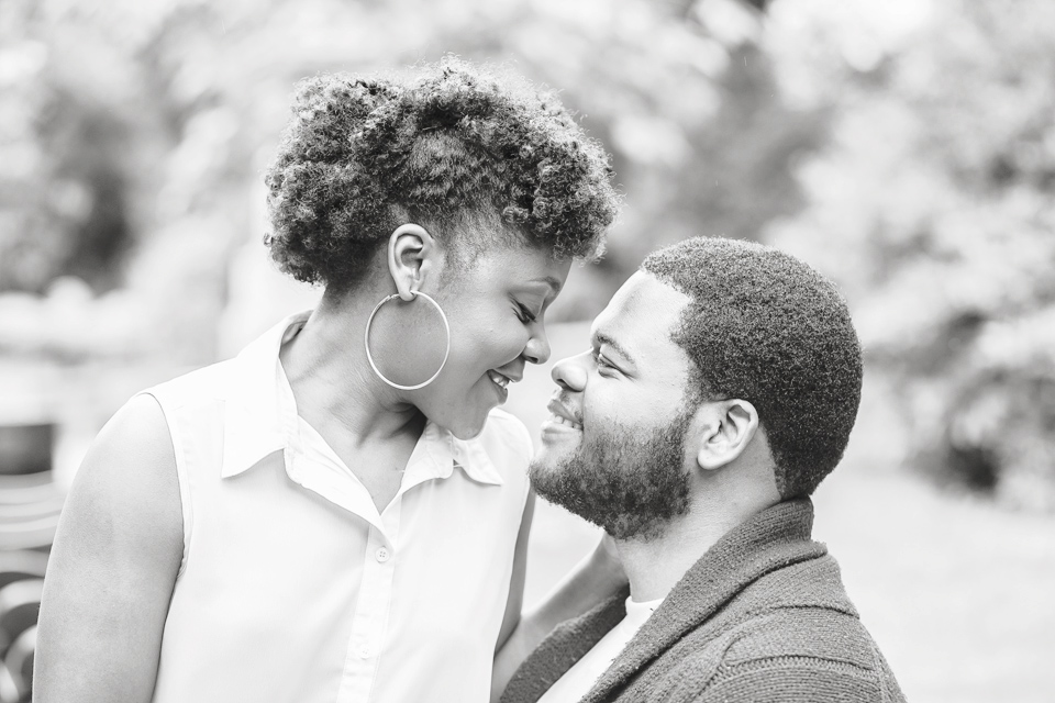 Pre-wedding portraits, Engagement session